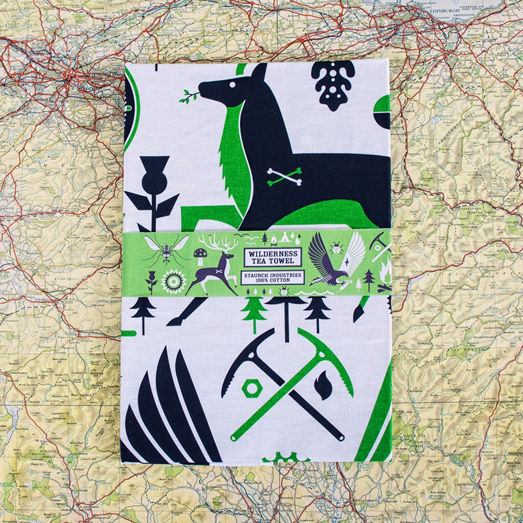 Wilderness Tea Towel