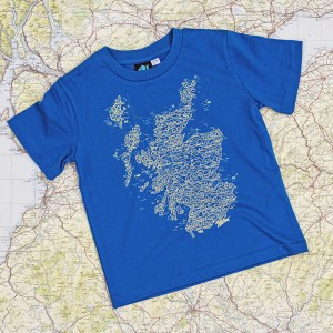 Scotland Wired Map - Kids