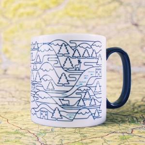 Scotland Wired Mug