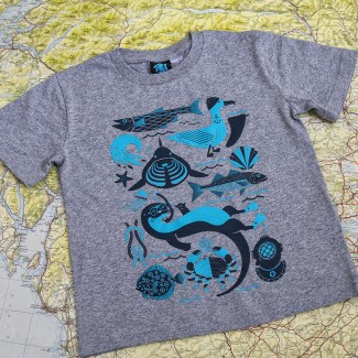 Sealife Tee - Kids